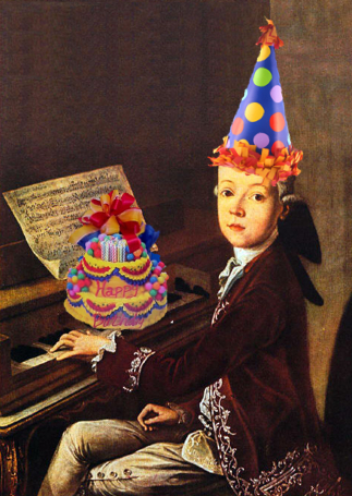 Happy Birthday, Mozart!