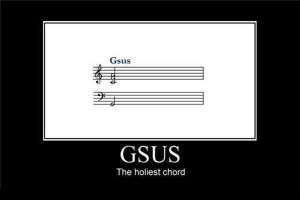 The holiest chord