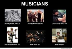 Musician meme