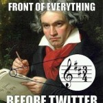 Beethoven Twitter