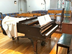 St Barnabas Denver piano
