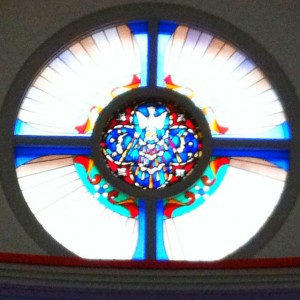 St Barnabas Denver window