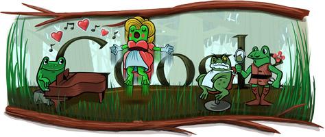 Rossini google doodle