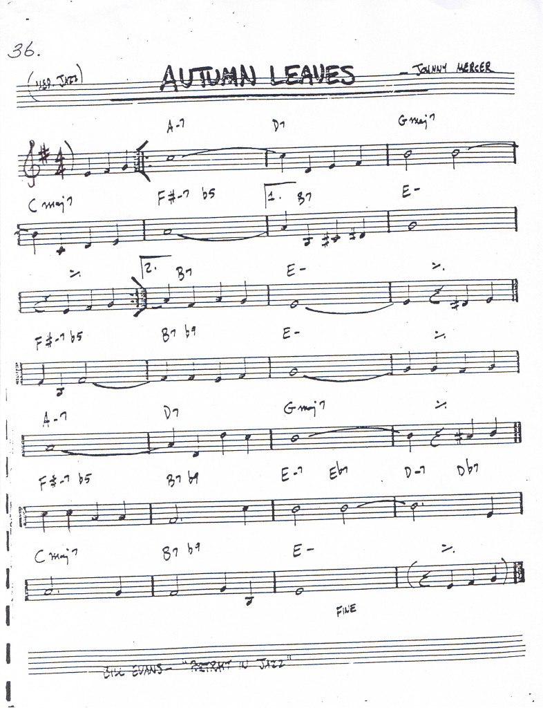 Autumn-Leaves-Leadsheet
