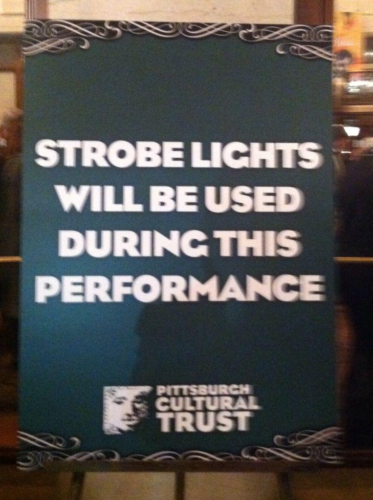Pgh Opera Strobe Lights