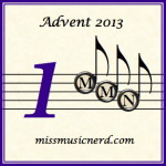 Miss Music Nerd's Musical Advent Calendar!