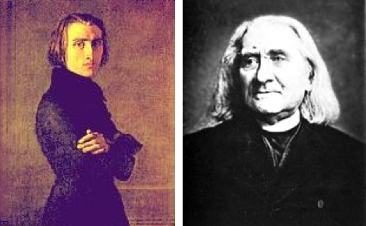 Liszt young old
