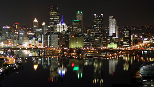 """Reflections of Pittsburgh"" Photo by Michael Righi via Wikimedia Commons"