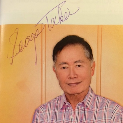 Takei autograph
